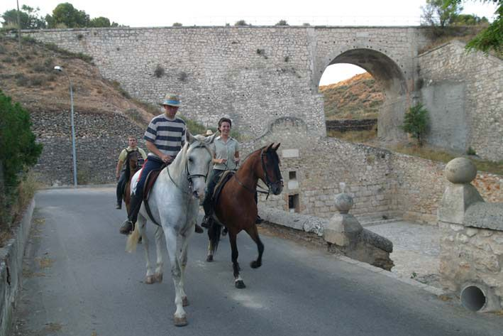 clases de equitación en Ocaña